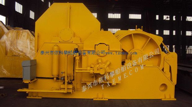 100T hydraulic towing winch