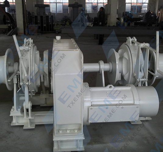 30mm Symmetrical type electric windlass