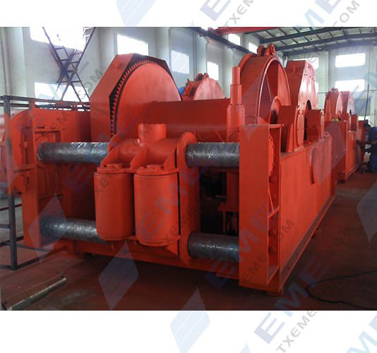 68T double drums Mooring Winch