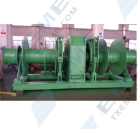 30T double drums electric winch